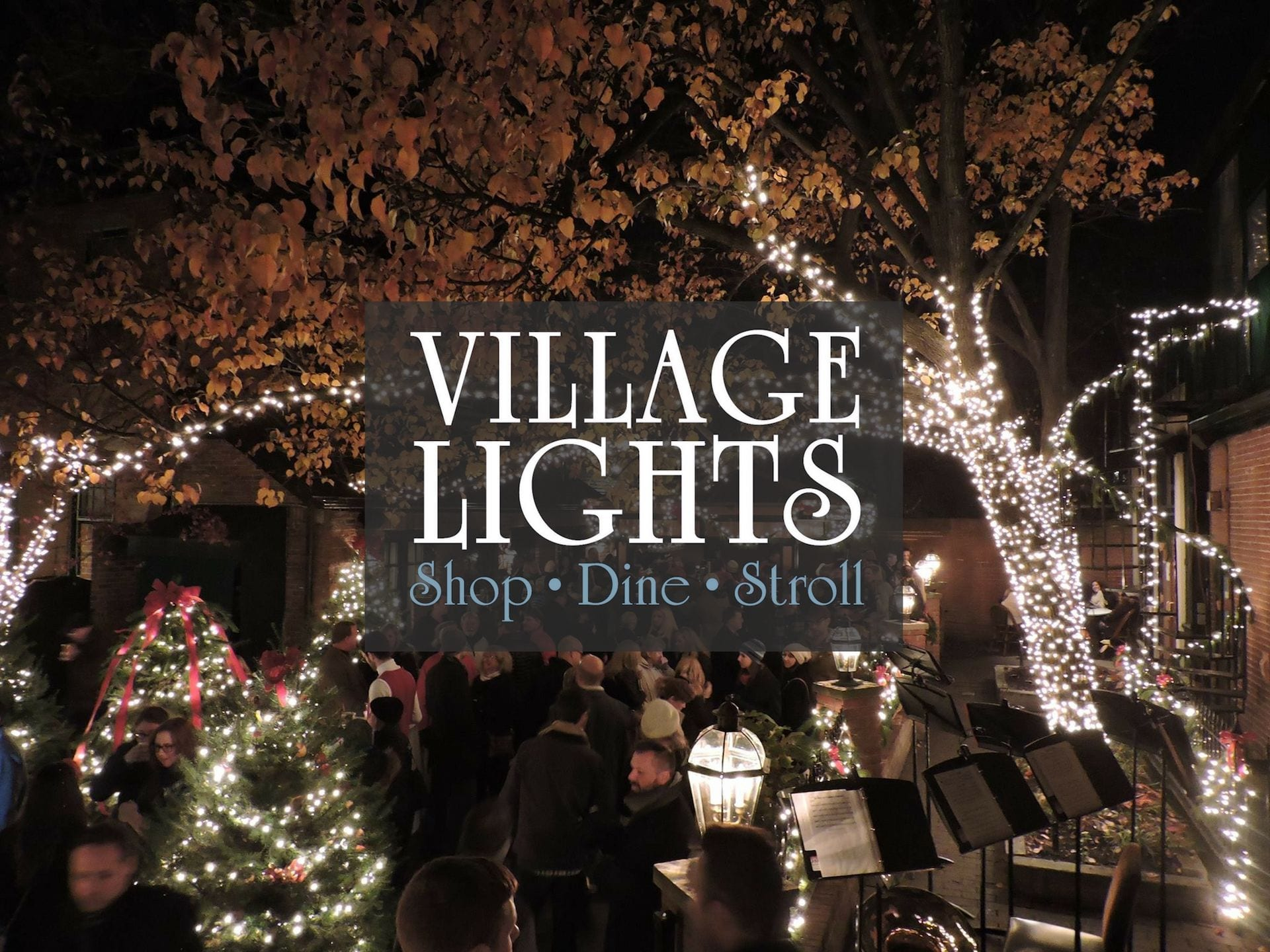 Columbus Ohio In Christmas 2020 Village Lights Village Lights 2019 | German Village Society