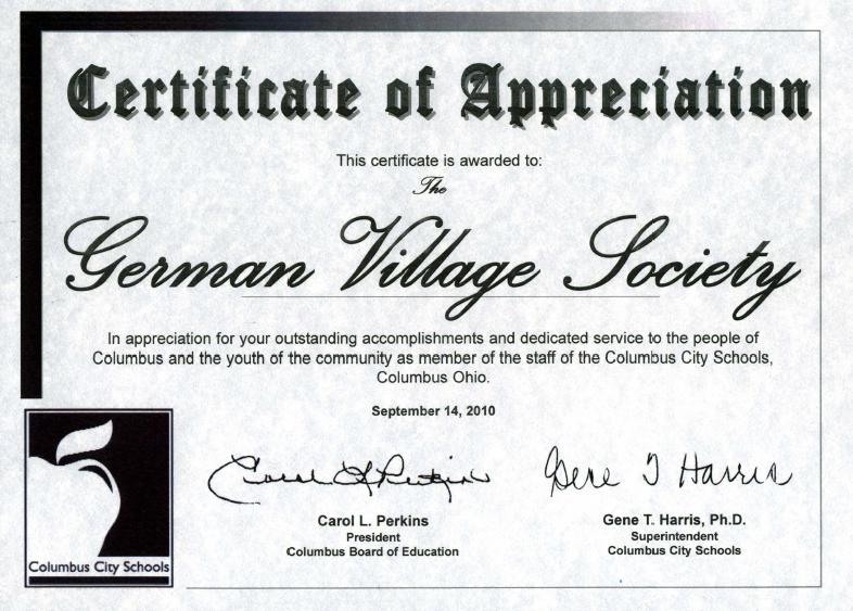 ... Photos - Certificate Wording Church Letter Of Critical Appreciation