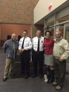 Dan Glasener, Officer Scott Peck, Officer Robin Medley, Shiloh Todorov and Michael Doody